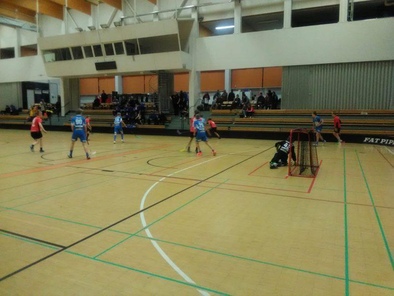 P05 joukkue C1-alkusarjan peleillä Pieksämäellä